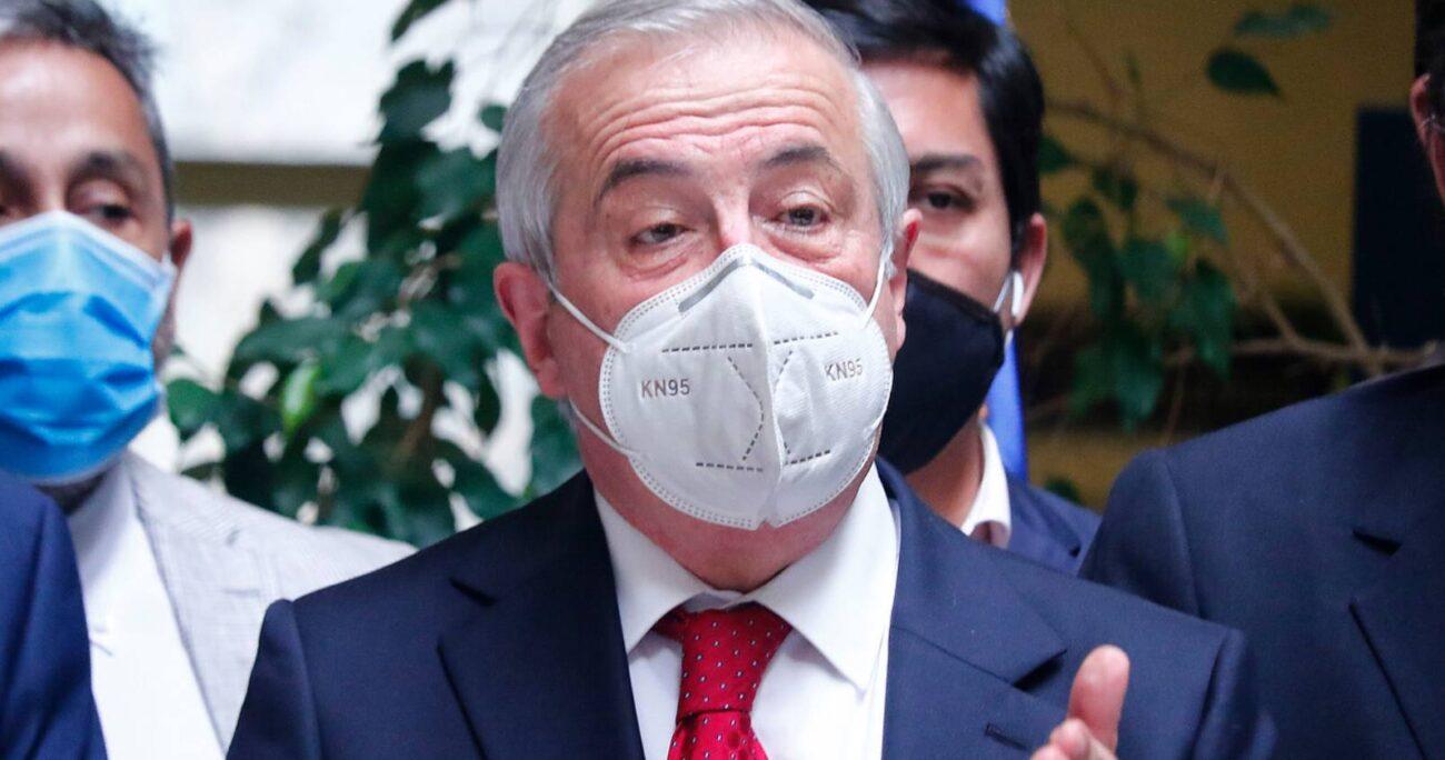 Jaime Mañalich entregó sus argumentos para refutar las palabras del canciller Allamand. (Agencia UNO/Archivo)