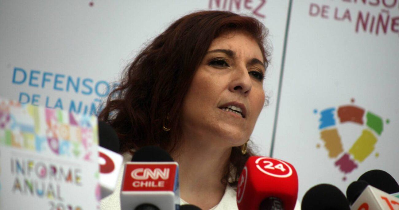 Patricia Muñoz, defensora de la Niñez. (Agencia UNO/Archivo)
