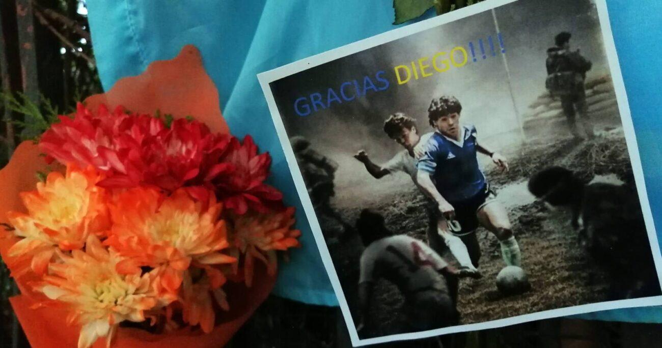 Maradona falleció el pasado 25 de noviembre. Foto: Agencia Uno.
