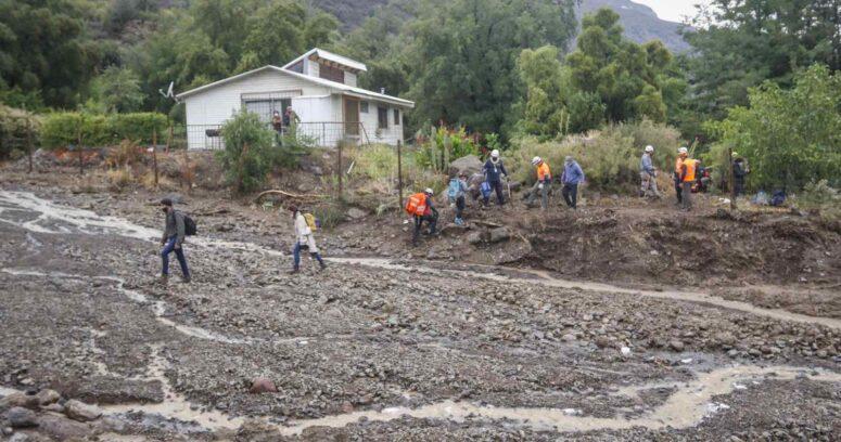 Onemi pide evacuar sector El Alfalfal en San José de Maipo