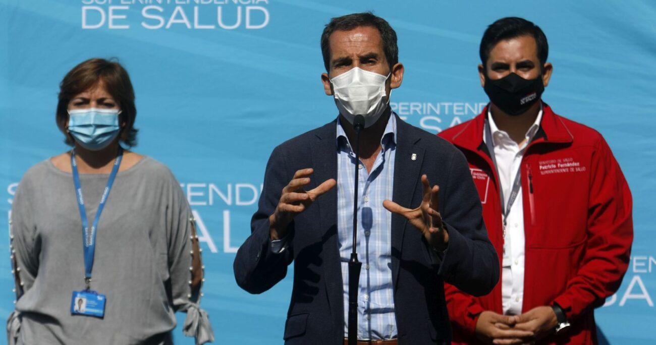 El alcalde de Santiago abordó la crisis del establecimiento. (Agencia Uno/Archivo)