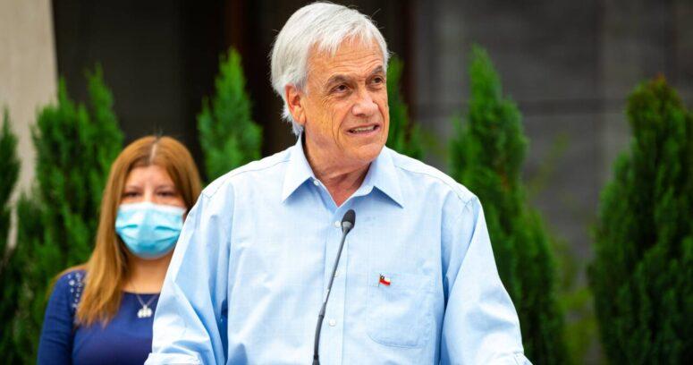 Cadem: Piñera alcanza un 24% de aprobación, la cifra más alta en cuatro meses