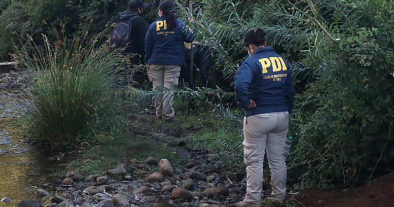 PDI realiza diligencias al interior de la casa de menor desaparecido en Lebu