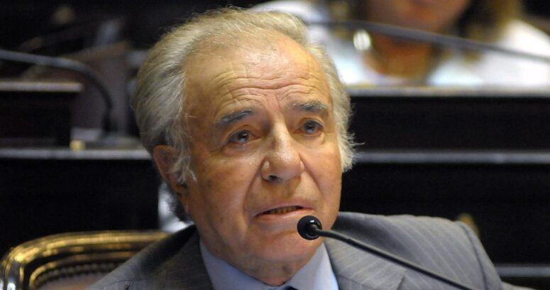 Restos de Carlos Menem fueron sepultados en cementerio islámico de San Justo