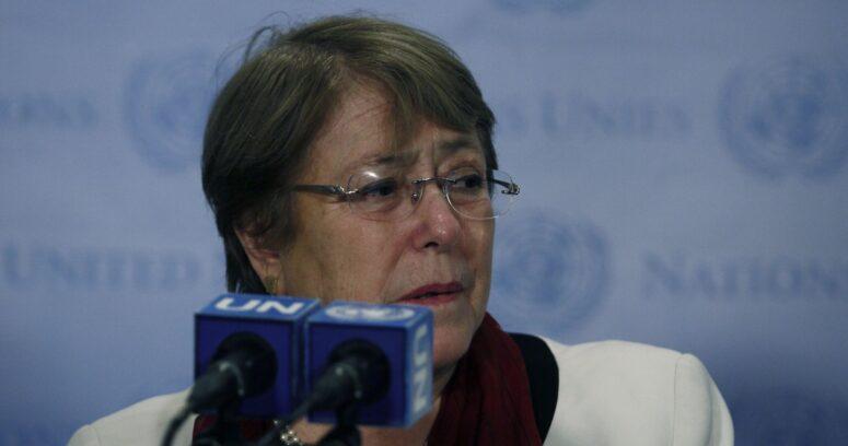 """Bachelet y estallido social: """"Se produjo un elevado número de violaciones graves a DDHH"""""""