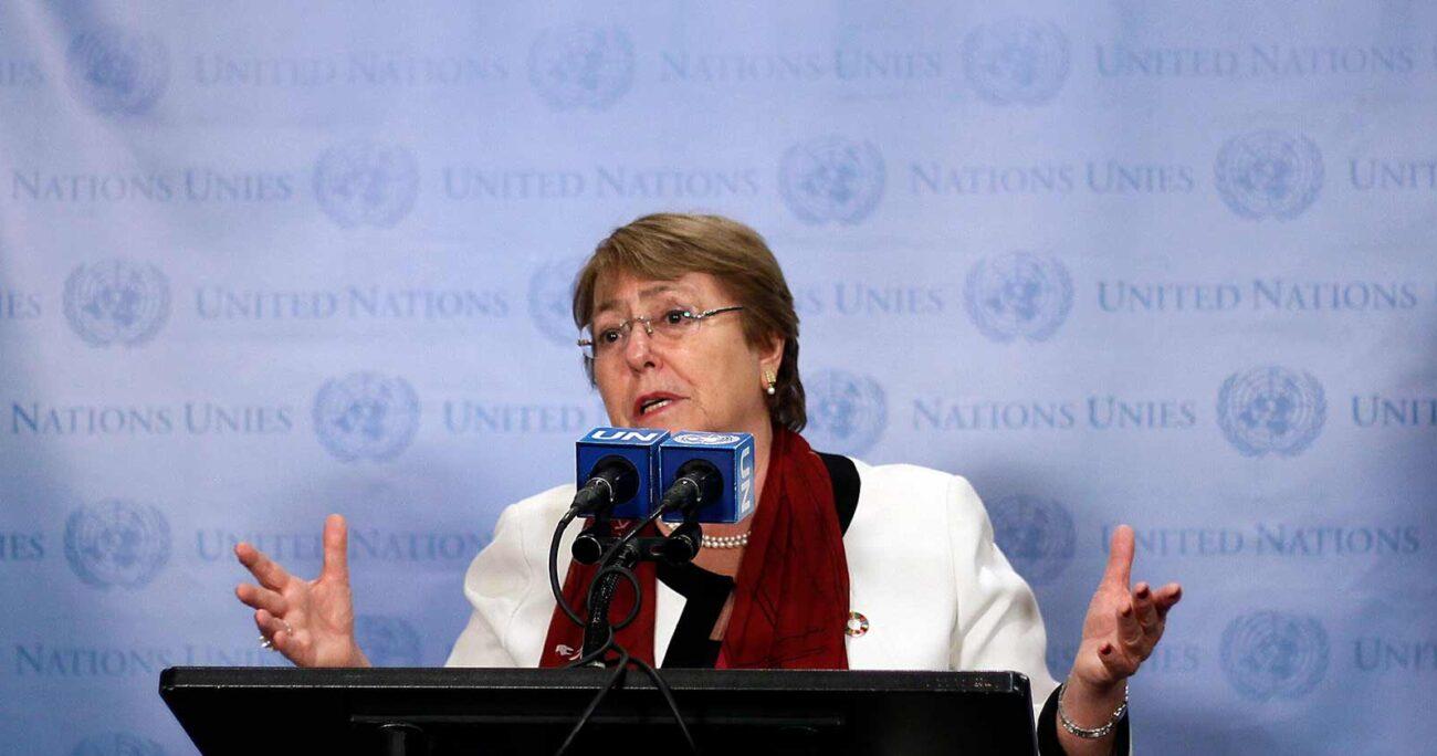 La ex Presidenta endosó su apoyo a una futura carrera a La Moneda de la presidenta del Colegio Médico (Agencia UNO/Archivo).