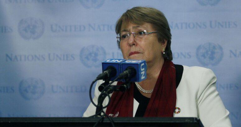 """Bachelet afirmó que uso de armas letales en manifestantes pacíficos es """"inaceptable"""""""