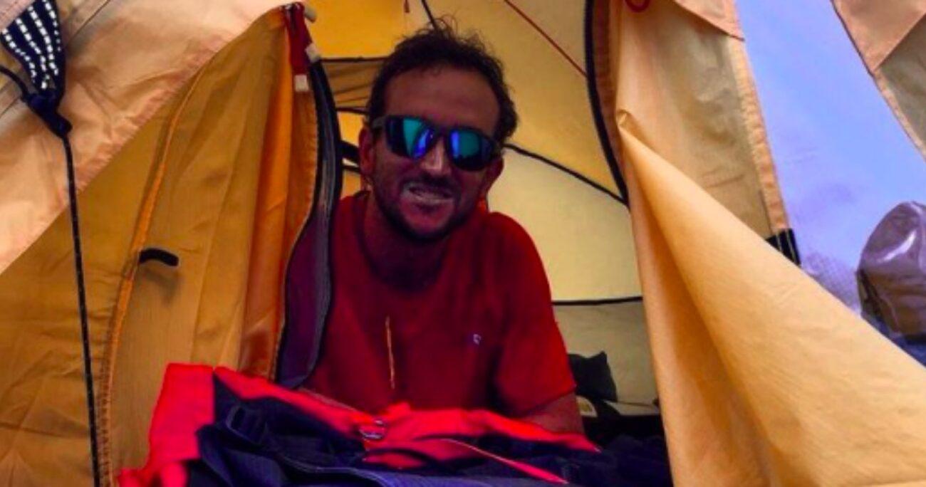 Mohr durante otra expedición que realizó al Everest. Fuente: Instagram/@jp.mohr.
