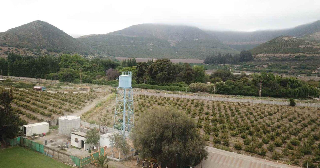 El Programa Agua Rural se ha implementado, hasta la fecha, en 54 APR de las provincias de Chacabuco, Los Andes, San Felipe y Quillota.