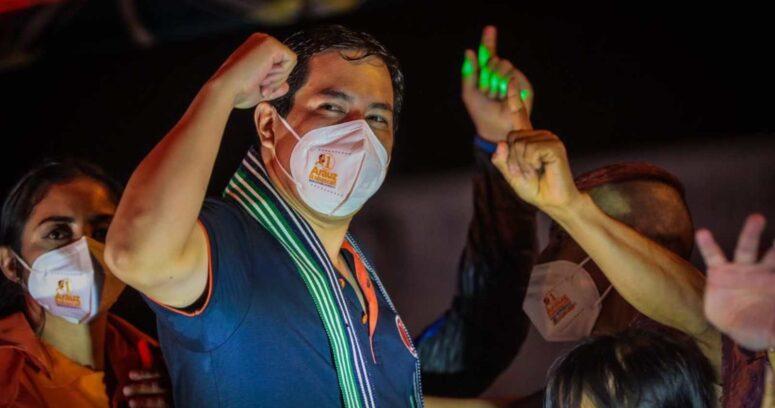 Elecciones en Ecuador: correísta Andrés Arauz obtiene mayoría, mientras Pérez y Lasso empatan
