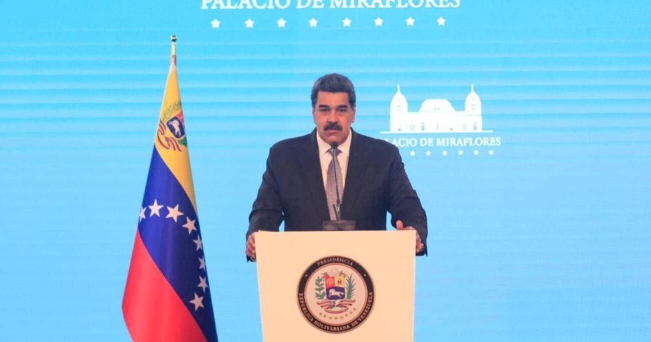 Maduro rechazó la idea de que Duque insista en señalar que disidencias de las FARC y el ELN tienen campamentos en territorio venezolano. (Foto: @NicolasMaduro)