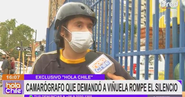 """Camarógrafo que demandó a Viñuela vuelve a Mega: """"Todos saben quién es el culpable"""""""