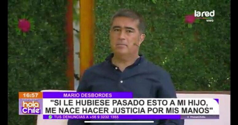 """Desbordes y caso de Tomás Bravo: """"Si le pasara a mi hija, yo lo mato"""""""