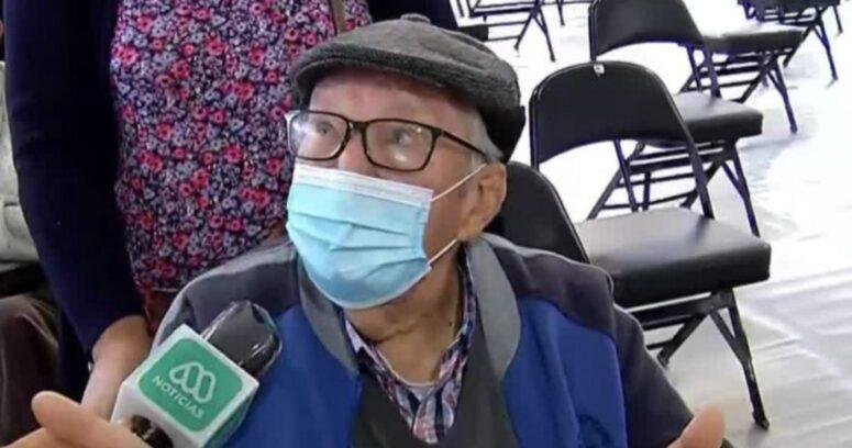 """""""Son tontos"""": el mensaje de un anciano de 94 años a quienes no se quieren vacunar"""
