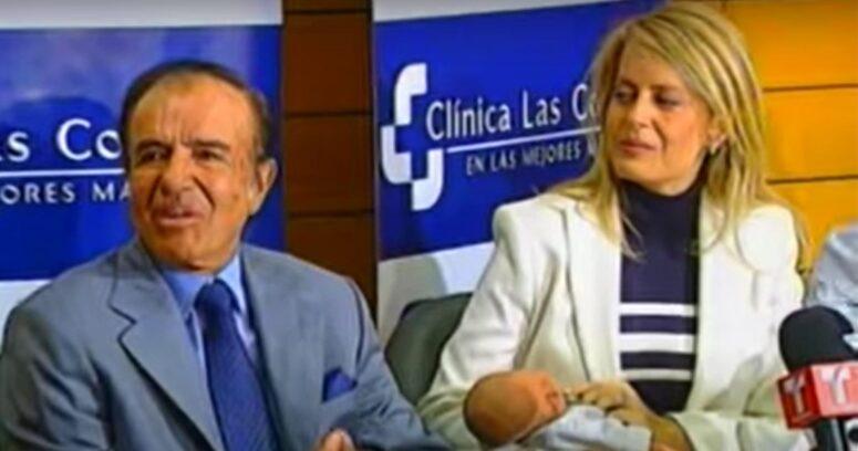 VIDEO – Boda con locro y un quiebre complejo: la historia del matrimonio entre Cecilia Bolocco y Carlos Menem