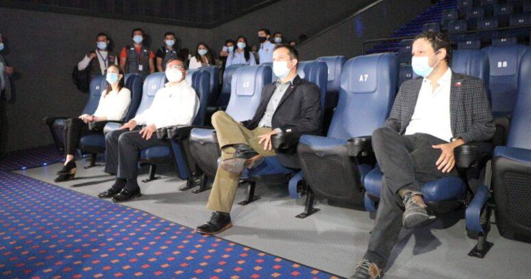 Gobierno dio el puntapié inicial para la reapertura de cines desde este jueves