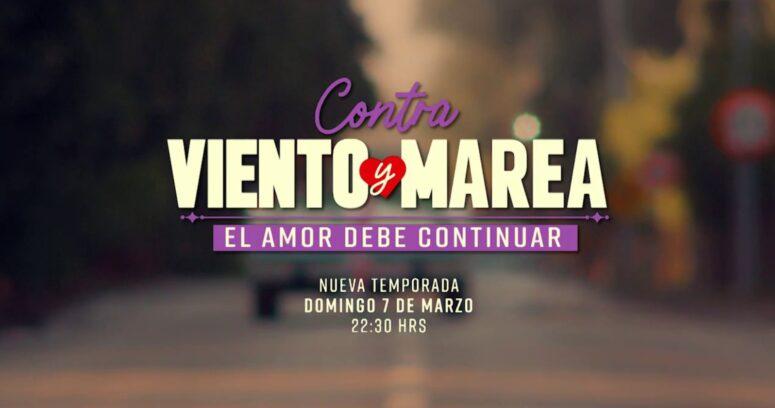 Canal 13 anuncia fecha de estreno de la quinta temporada de Contra Viento y Marea