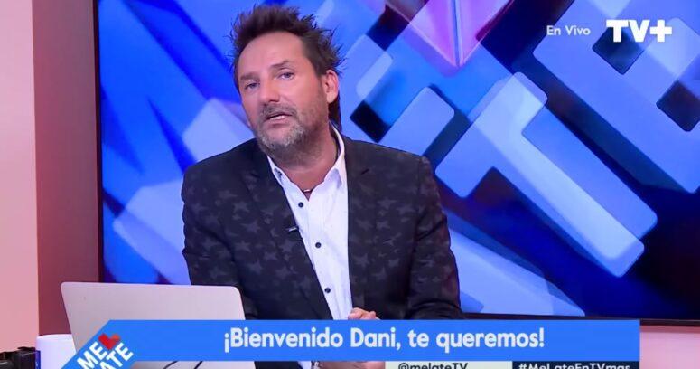 """Daniel Fuenzalida regresó a Me Late tras la muerte de su madre: """"Ahora hay un angelito que me está protegiendo"""""""