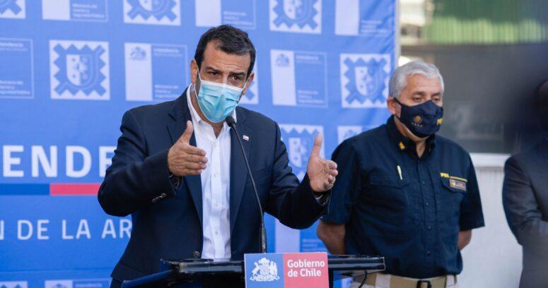 Ministro Delgado confirmó patrullajes mixtos en la Macrozona Sur