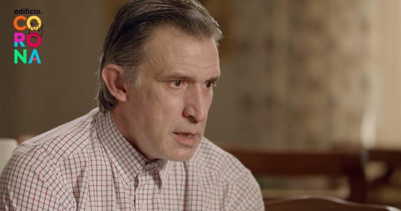 Francisco Melo interpreta a un padre evangélico y conservador. (Captura de pantalla)