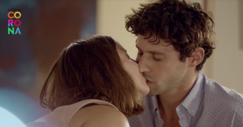 El mensaje de Mega en medio de beso entre actores en Edificio Corona