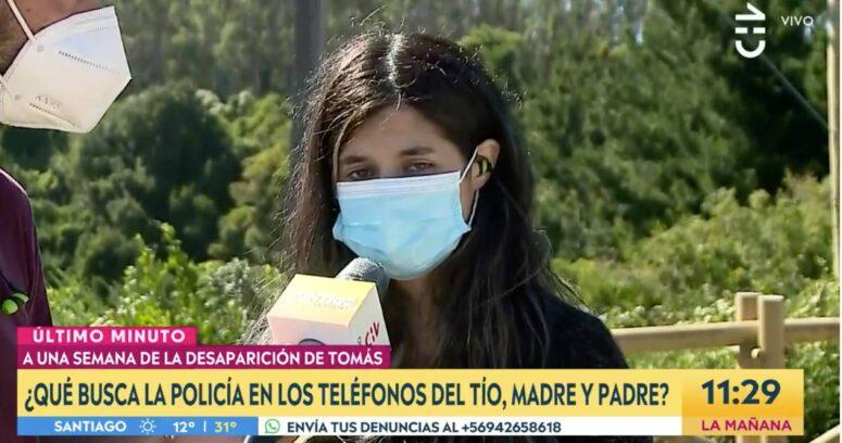 """El testimonio de la mamá de Tomás Bravo en Chilevisión: """"Que por favor me devuelvan a mi bebé"""""""