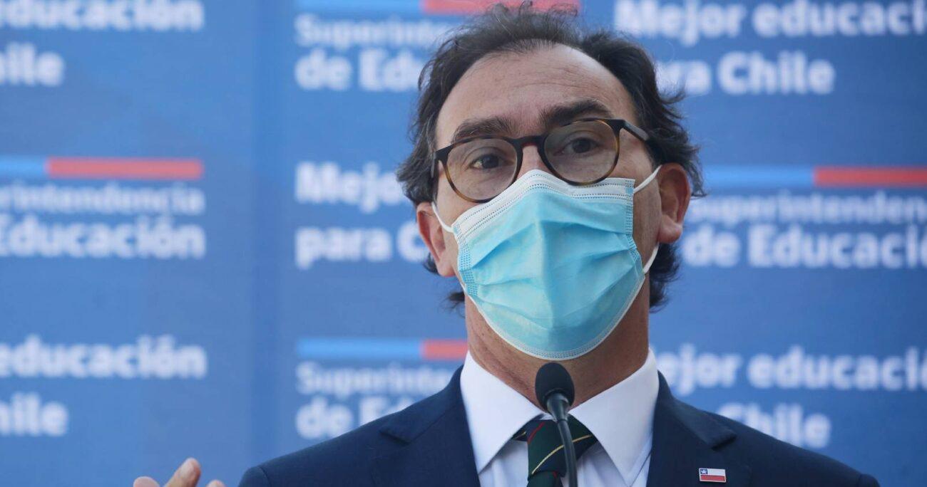 El ministro de Educación aseguró que no se presionará para que estén las mismas condiciones antes de la pandemia. (Agencia Uno/Archivo)