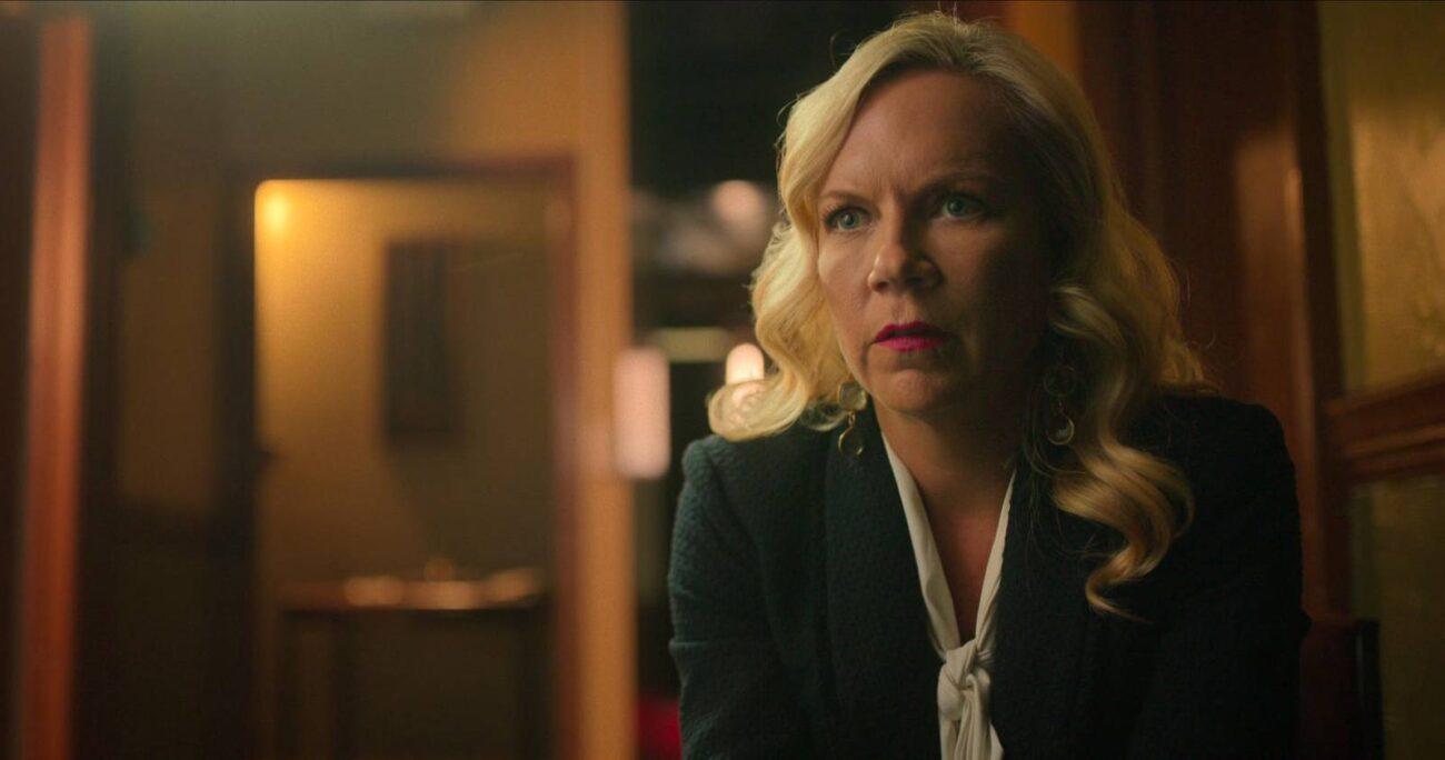 En la imagen, la gerenta del Hotel Cecil. (Netflix)