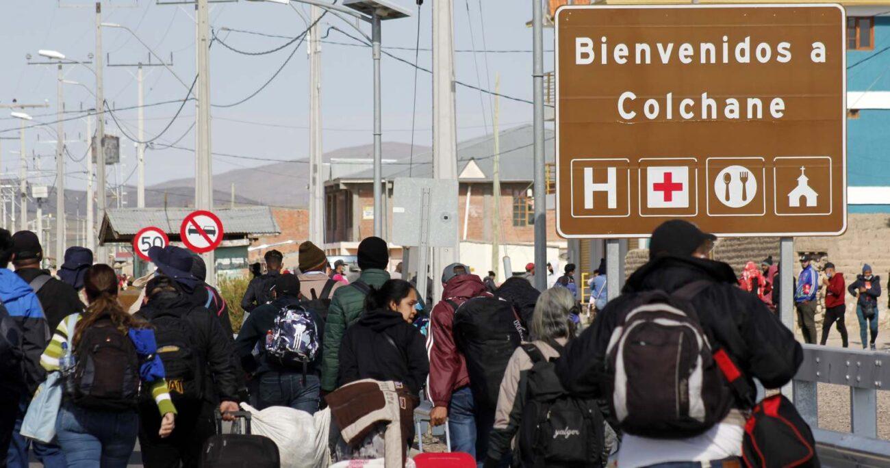 Desde hace algunas semanas que Colchane enfrenta una crisis migratoria. (Agencia UNO/Archivo).