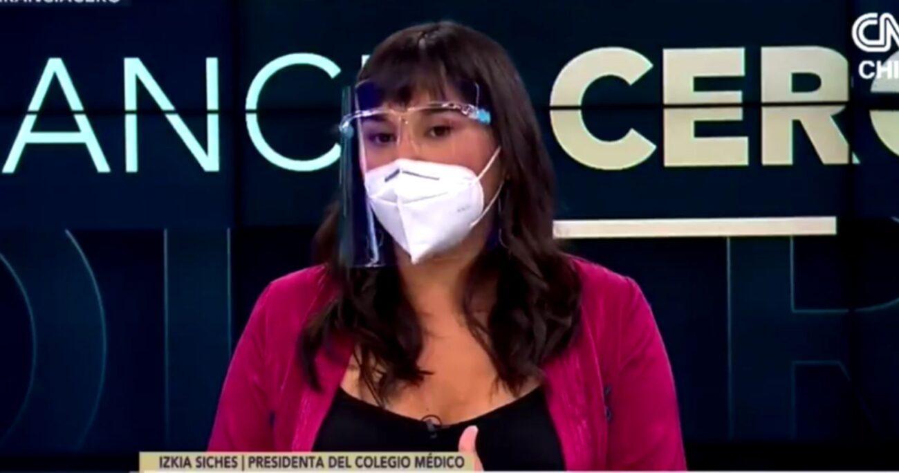 Siches durante su participación en Tolerancia Cero. Foto: CNN Chile/captura de pantalla