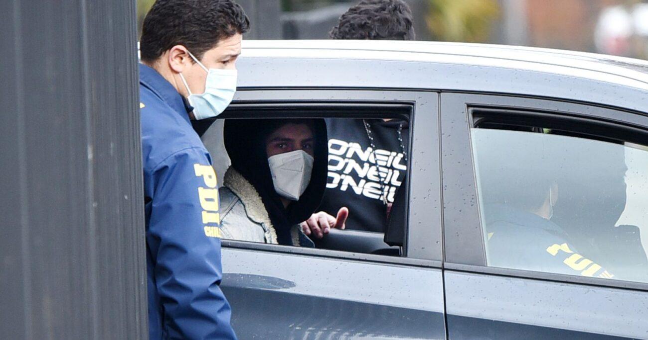 Actualmente Martín Pradenas cumple prisión preventiva. (Agencia Uno/Archivo)