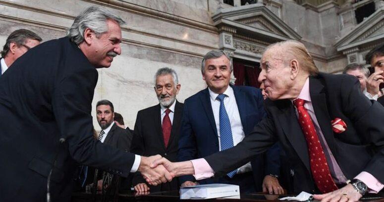 Alberto Fernández y Mauricio Macri lamentaron la muerte de Carlos Menem