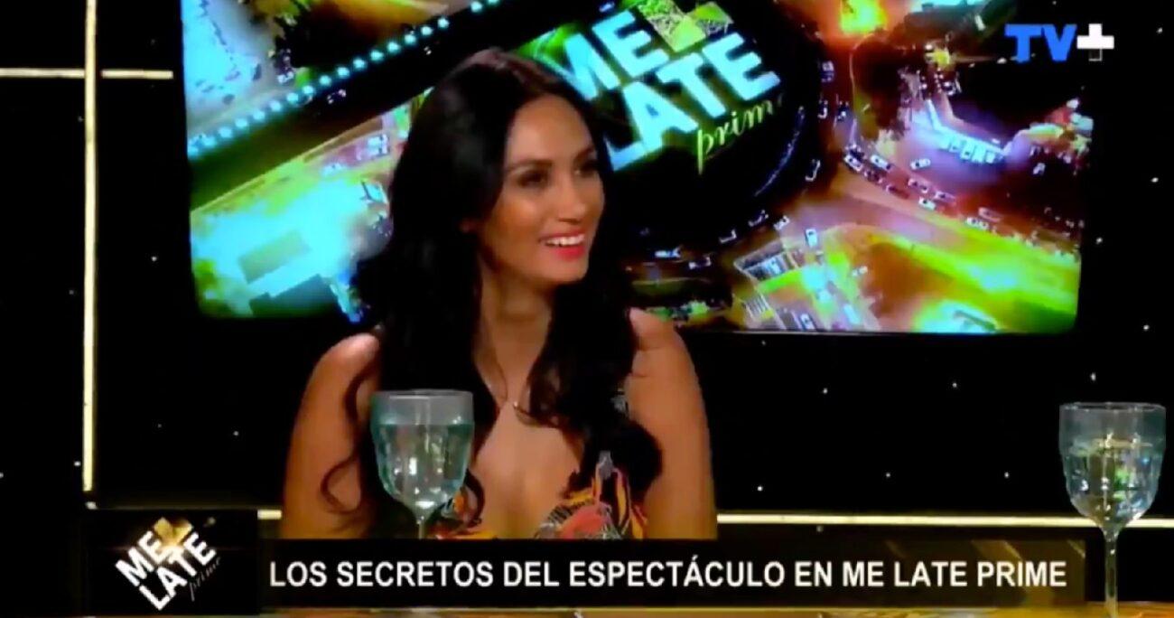 La consulta de Díaz desató la risa de sus compañeros. Foto: Captura de pantalla/TV+.