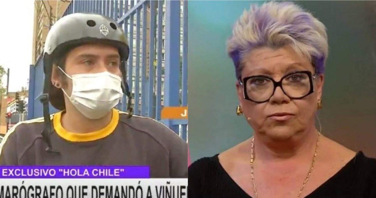 Fue el 16 de julio del año pasado cuando José Miguel Viñuela le cortó el pelo a José Miranda en el Mucho Gusto. (Captura de pantalla)