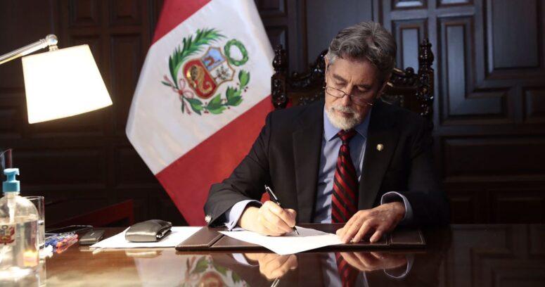 Presidente de Perú dijo que Chile ofreció oxígeno para enfrentar los casos de COVID-19