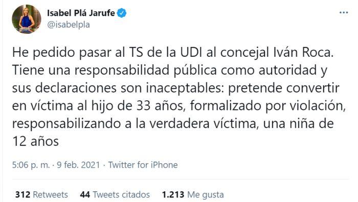 Iván Roca UDI