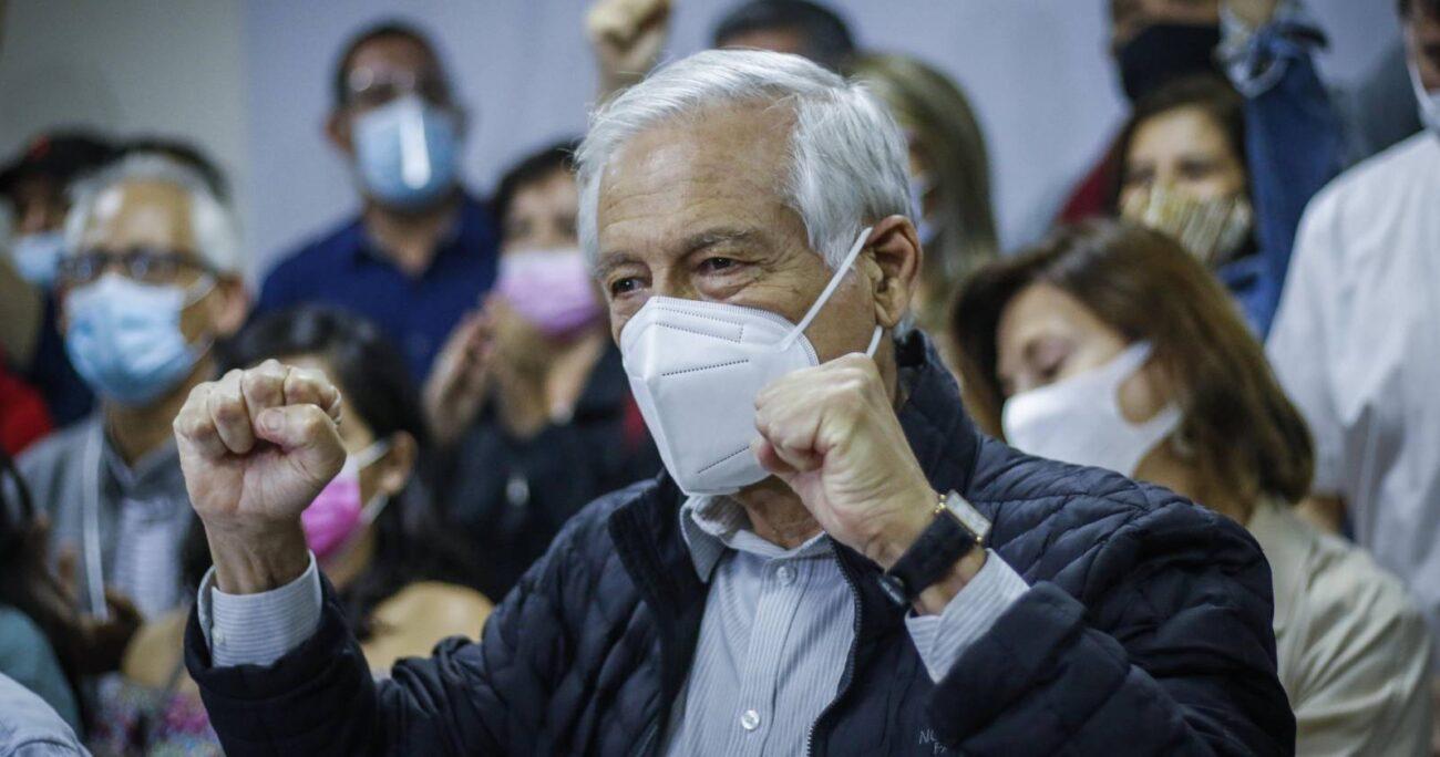 Heraldo Muñoz alcanzó el 54% de los votos. Foto: Agencia Uno.