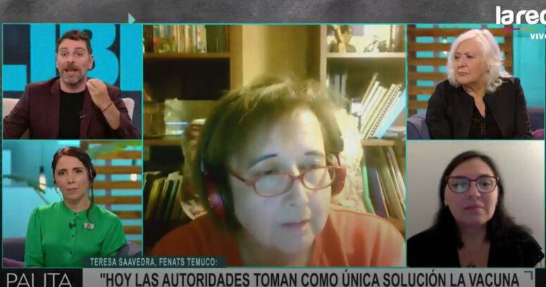 Minsal denunció a dirigenta de Fenats de Temuco que rechazó la vacuna de Sinovac