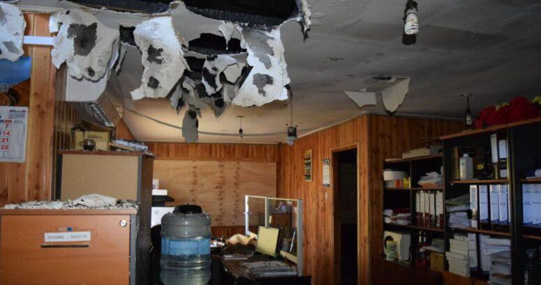 """""""Decretan prisión preventiva para acusado por incendio en Municipalidad de Villarrica"""""""