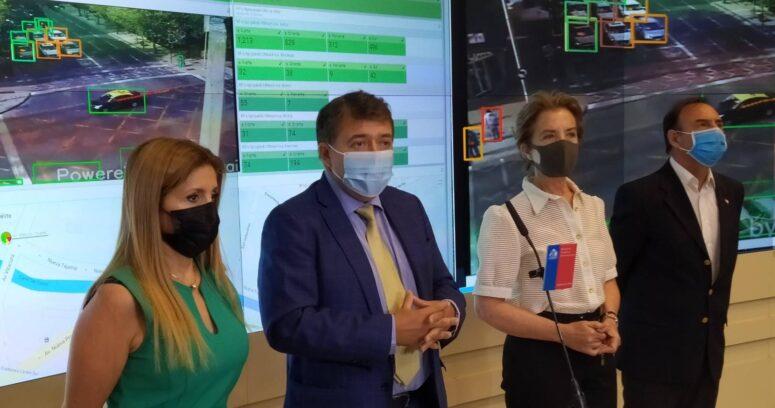 """""""Implementan sistema piloto en cámaras de control de tránsito que combina inteligencia artificial y 5G"""""""