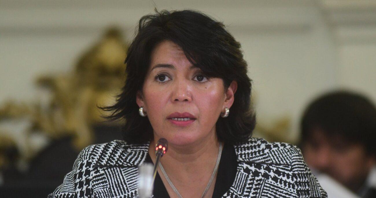 Yasna Provoste estuvo inhabilidad para ejercer cargos públicos entre 2008 y 2013. FOTO DE AGENCIA UNO/ARCHIVO