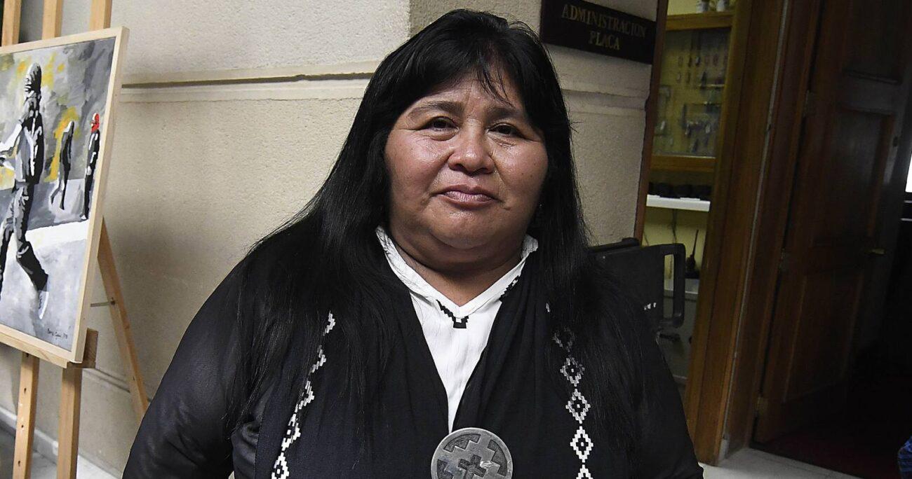 La decisión de la parlamentaria fue criticada debido a su origen mapuche. (Agencia UNO/Archivo).