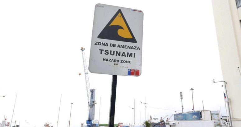 SHOA: estos son los horarios en que llegaría tren de olas a Chile tras terremoto