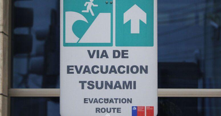 Onemi establece Estado de Precaución tras posibilidad de tsunami por terremoto en Nueva Zelanda