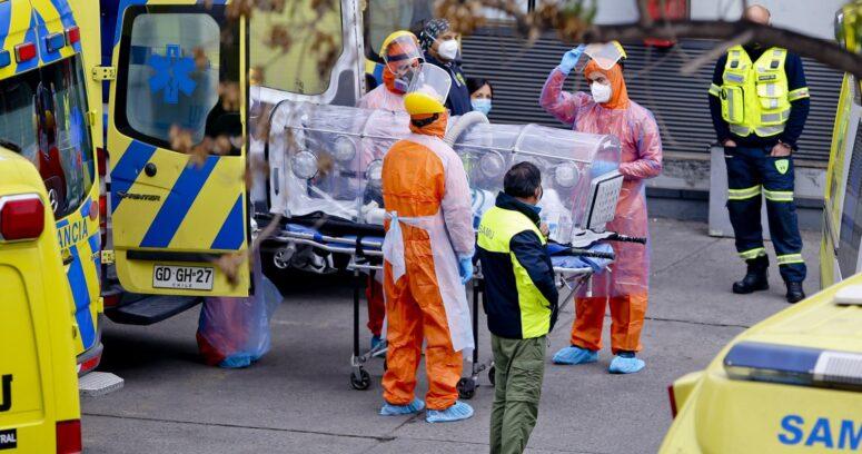 """""""Chile registra la cifra más alta de casos nuevos desde que comenzó la pandemia"""""""