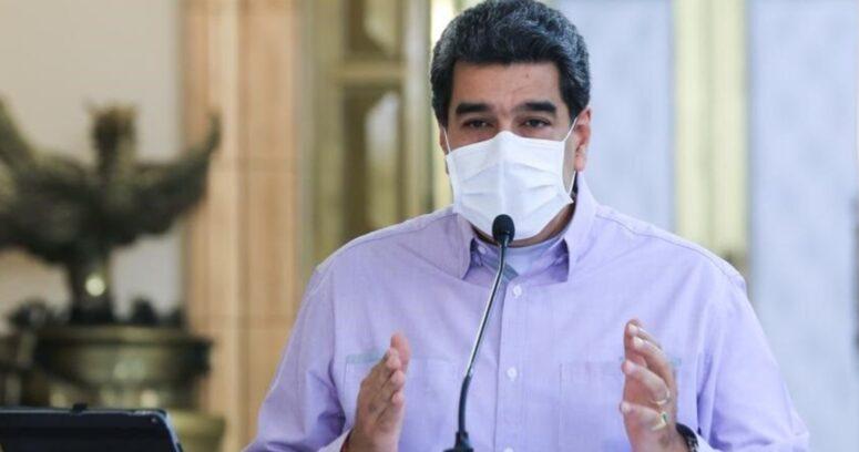 Maduro recibe la primera dosis de vacuna rusa contra el COVID-19 en Venezuela