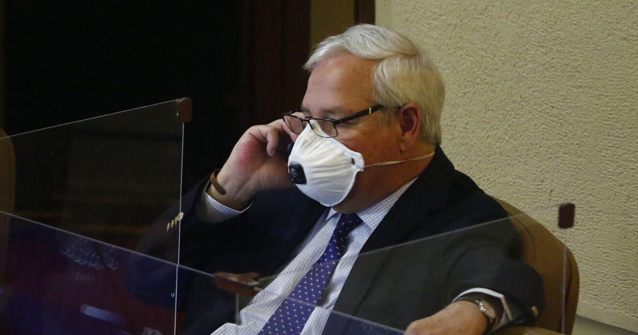 El diputado Urrutia deberá permanecer aislado hasta el próximo lunes 22 de marzo. Foto: Agencia UNO/Archivo