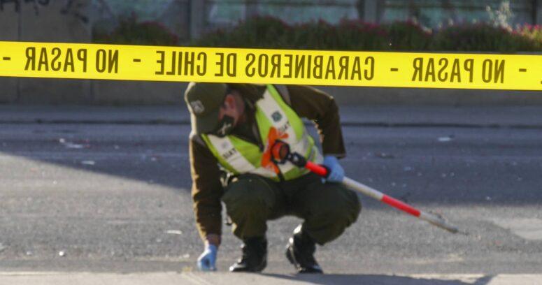 """""""Control en barrio Franklin dejó carabinero atropellado y civil baleado"""""""