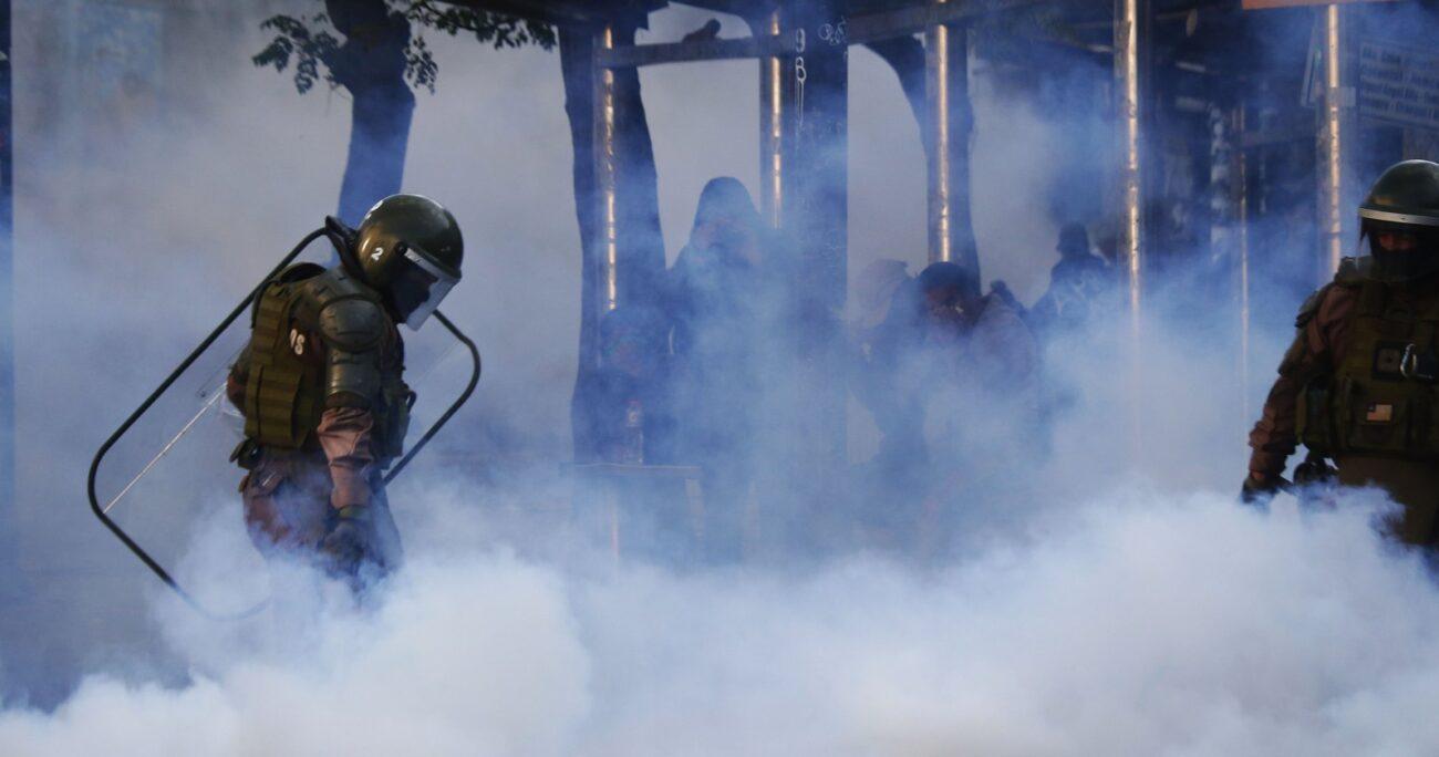 El organismo analizó el actuar policial entre el 18 de octubre y el 31 de diciembre de 2019. Foto: Agencia UNO/Archivo