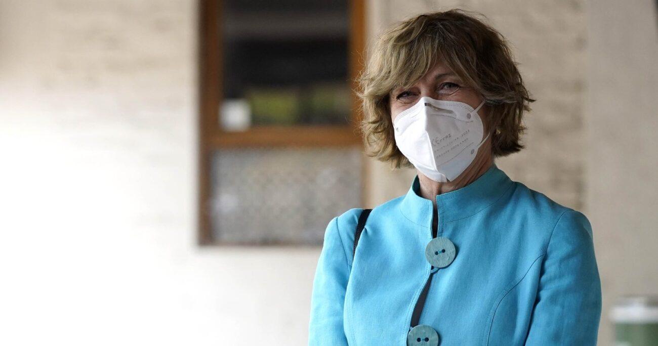 Evelyn Matthei había dicho que tomaría la decisión de ir a primarias de Chile Vamos una vez concluidas las elecciones de abril. (Agencia UNO/Archivo).